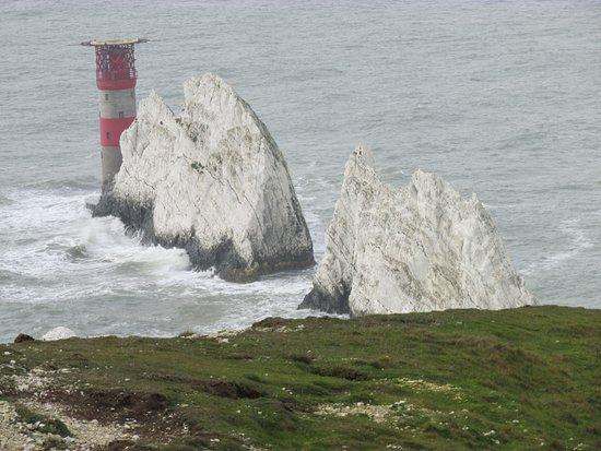 Totland Bay, UK: The Needles