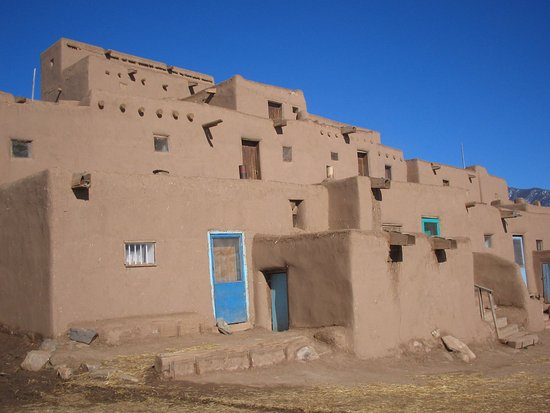 Algodones, Nuevo Mexico: 1000年の歴史、ネイティブアメリカンのタオスプエブロ