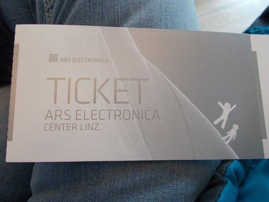 Ars Electronica Center : biglietto ingresso