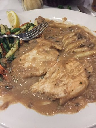 Saukville, WI: Worst Chicken Marsala Ever