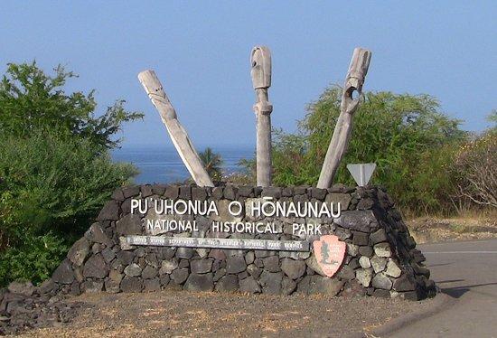 Honaunau, HI: Park Enterence