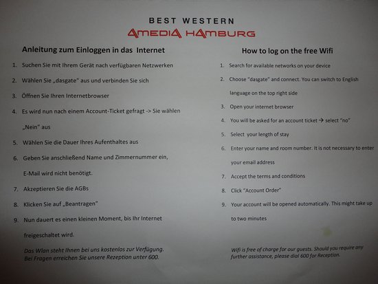 Best Western Amedia Hamburg Einzelzimmer