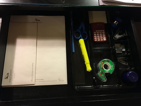 Attirant The Arctic Club Seattle   A DoubleTree By Hilton Hotel: Office Supplies In  Desk Drawer