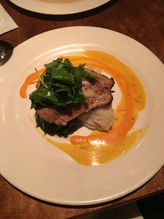 Ocean : Grouper made GF with mashed potatoes and spinach