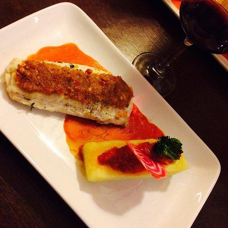 Groix, Francia: Cuisine délicate et présentation soignée