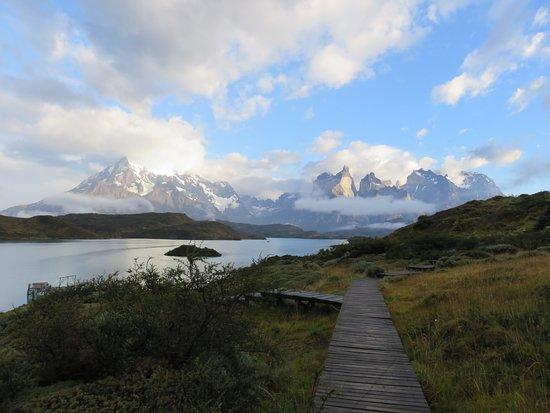 explora Patagonia: vue depuis la réception