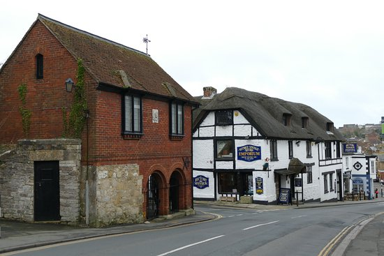 Rectory Mansion and Old Town Hall, Brading.