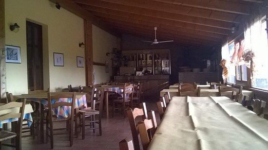 Montefiore Conca, Italien: veranda