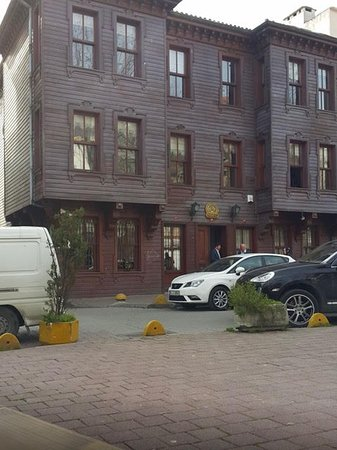 Ottoman Hotel Park: This is what the hotel actually looks like on the outside.