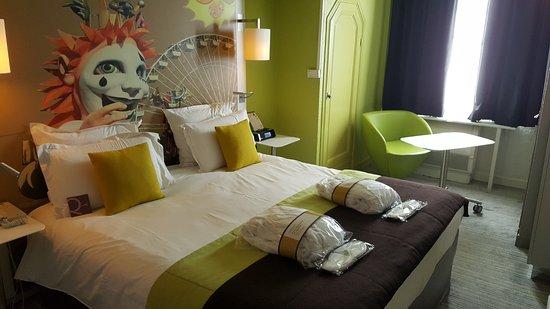 Mercure Nice Centre Grimaldi : La chambre 611 (chambre Privilège)