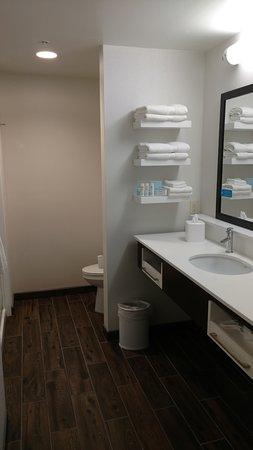 """Wexford, Пенсильвания: Really """"roomy"""" bathrooms!!"""