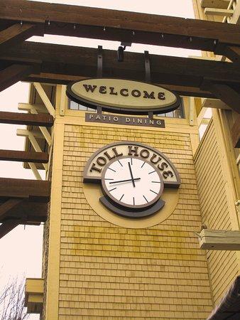 Toll House Hotel - Los Gatos - Signage