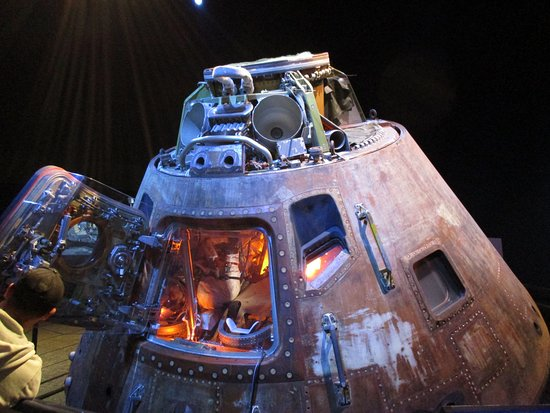 Apollo 17 Command Module - Picture of Space Center Houston ...