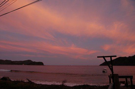 Speyside, Tobago: Sunset