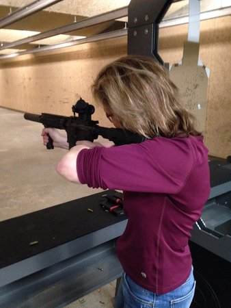 Denver, NC: The 50 yard rifle range