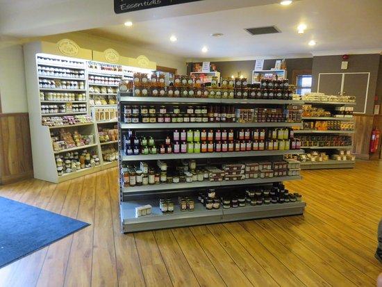 Bankfoot, UK: deli goods