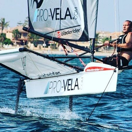 Los Alcazares, Spain: Foiling on the Bladerider