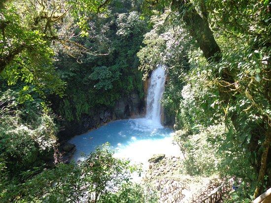 Tenorio Volcano National Park, Costa Rica: Cascada