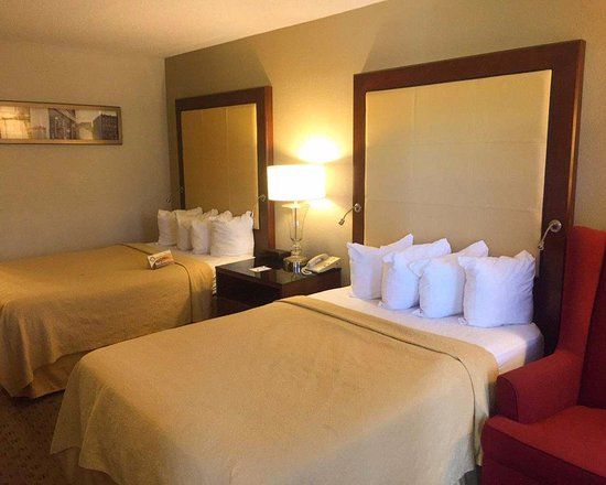Quality Inn Morganton: Double beds