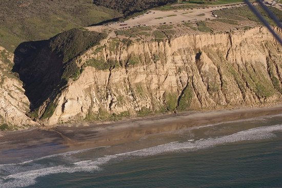 Fun Flights Biplane Rides: Cliffs near Torrey Pines