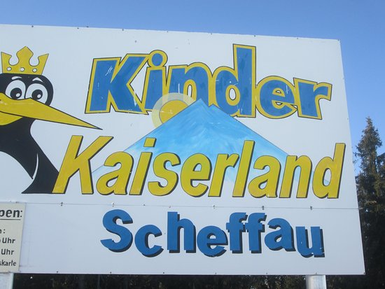 Scheffau am Wilden Kaiser, Austria: The sign
