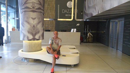 Dazzler Recoleta: Loby...