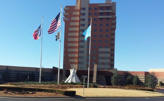Front of Downstream Casino Resort