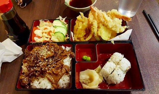 Mizu Japanese Restaurant: noodle box