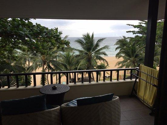 Andaman White Beach Resort: Our room's balcony