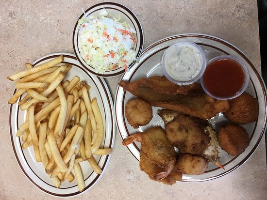 Fish dinner picture of white river fish market tulsa for White river fish market