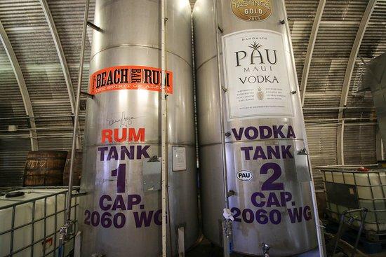 Haicai, Havaí: Hali'imaile Distillery