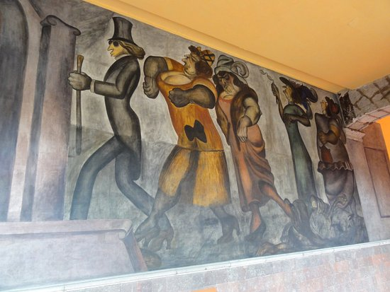 Jose Clemente Orozco's Mural Series in the Escuela Nacional Preparatoria
