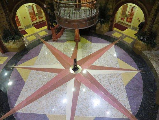 Lawrenceburg, IN: Lobby of the casino