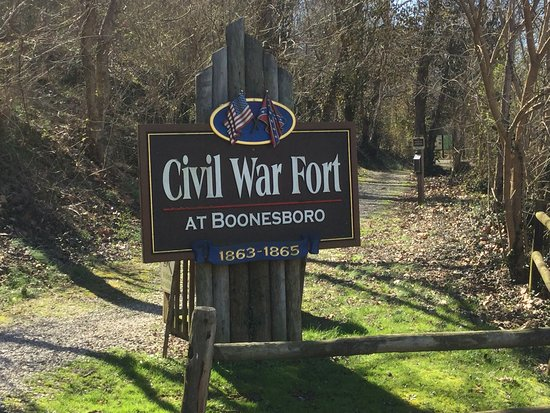 Civil War Fort at Boonesboro