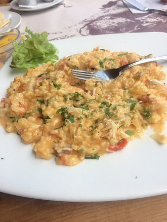 New Orleans: Seafood Risotto