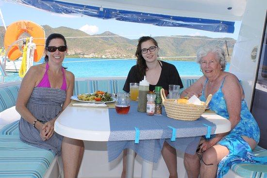 Jolly Harbour, Antigua: Catch the Cat