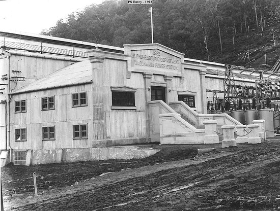 Waddamana Power Station Museum: Waddamana Power Station, commissioned in 1916 and Hydro Tasmania's first power station
