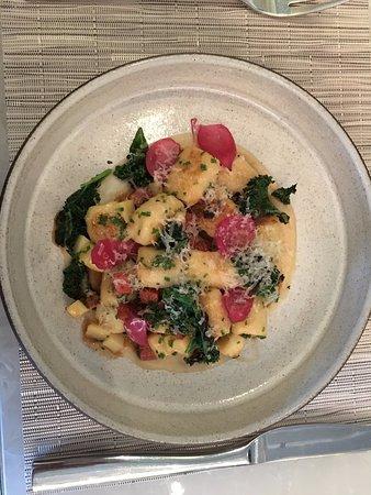 Hawksworth Restaurant: Caramelized gnocchi