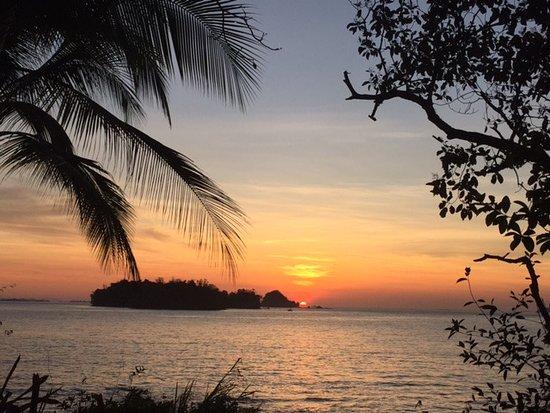Golfo de Chiriqui National Park, Panama/Panamá: Sunrise