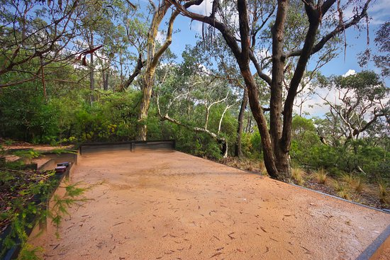 Blackheath, Australien: Petanque Pitch in bush setting