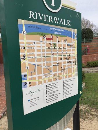 Августа, Джорджия: Riverwalk