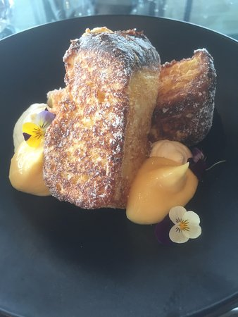 Mona Pavilions: French toast from The Source restaurant