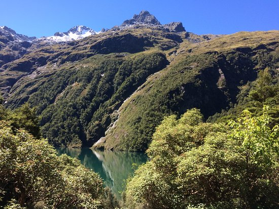 Fiordland National Park, Nieuw-Zeeland: Lake is incredible.