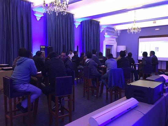 Hotel Libertador Arequipa: Início evento noite