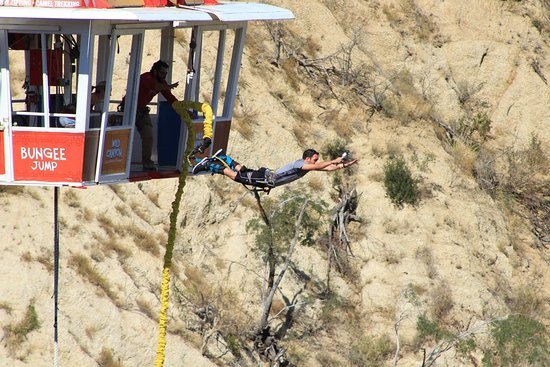 Wild Canyon Adventures: bungee