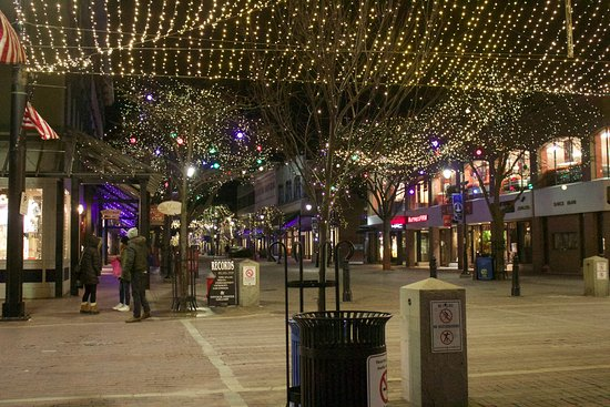 Church Street Marketplace: Winter Lights is a must-see display from February to April