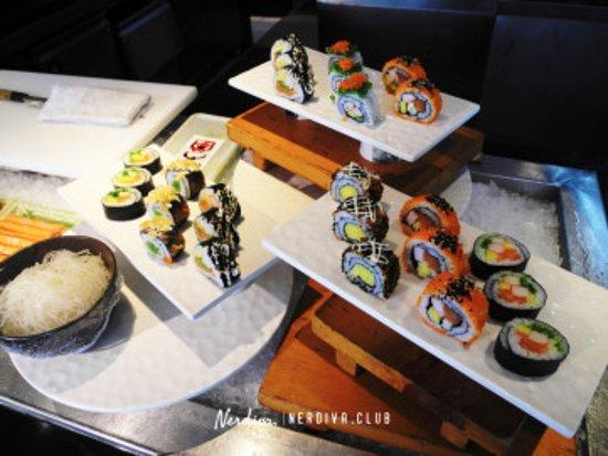 Good taste of sushi