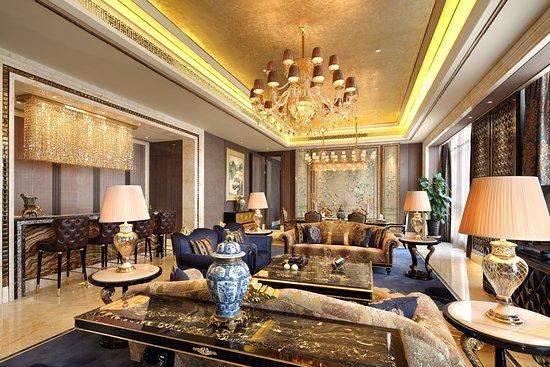 Fuyang, China: 总统套房客厅