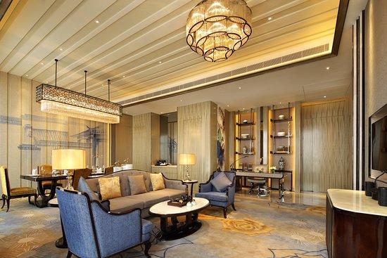 Fuyang, จีน: 总统套房客厅