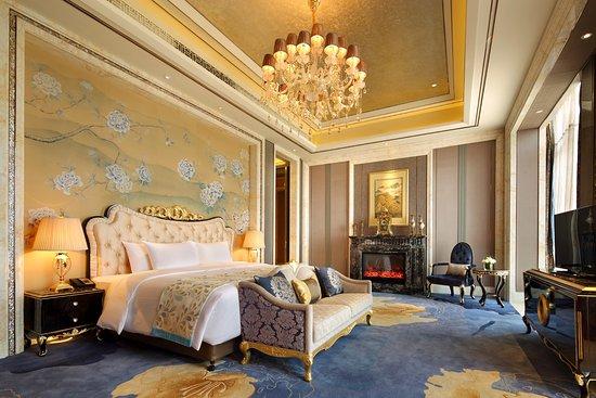 Fuyang, China: 总统套房卧室